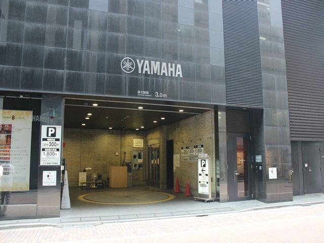 ヤマハ銀座ビル駐車場