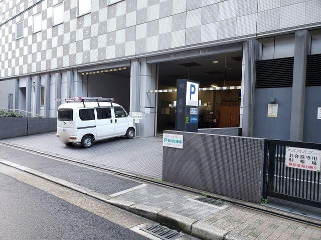メルパルク京都駐車場