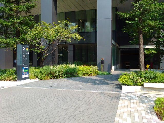 銀座周辺の駐車場 akippa 東京スクエアガーデンパーキング【9台】