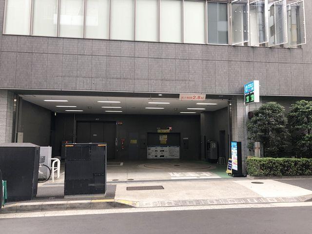 銀座周辺の駐車場 akippa駐車場 a-place新橋駅前【計16台】