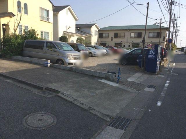 由比ヶ浜駐車場(2)