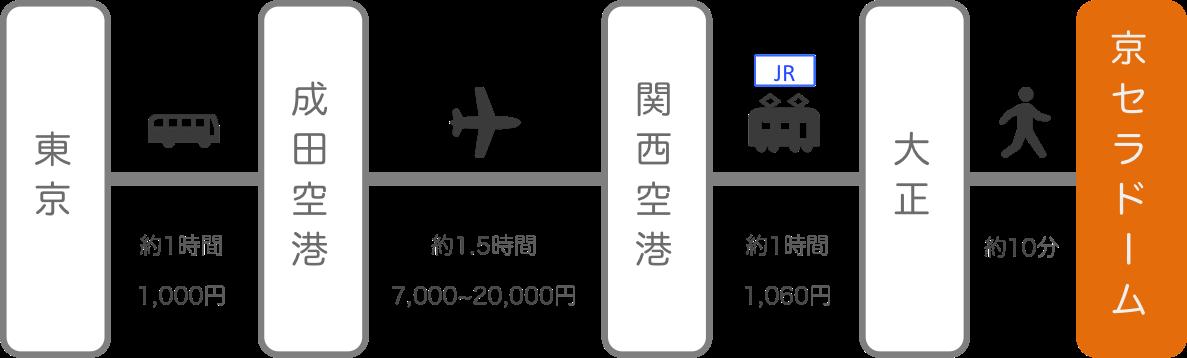 京セラドーム_東京_飛行機