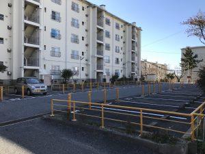 akippaで貸し出している神戸市営住宅の駐車場