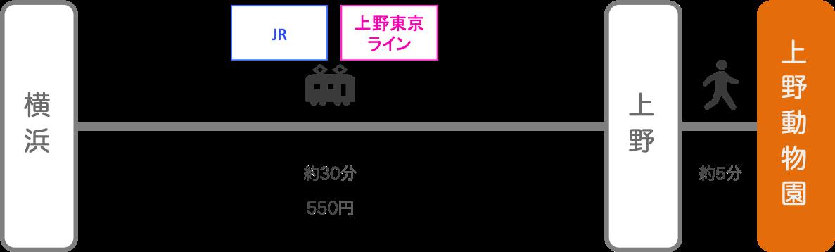 上野動物園_横浜(神奈川)_電車