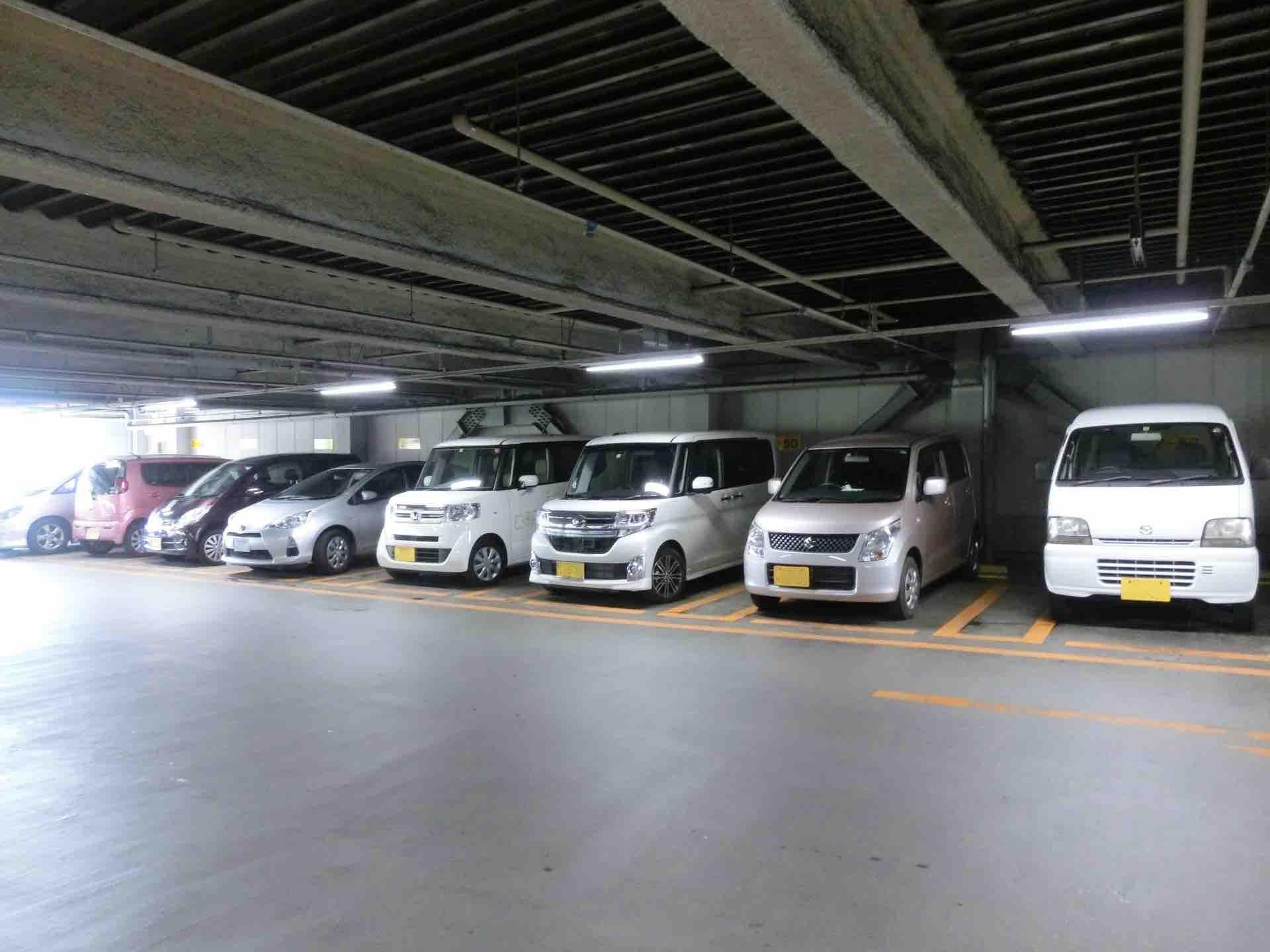 栄ガスビル_駐車場イメージ