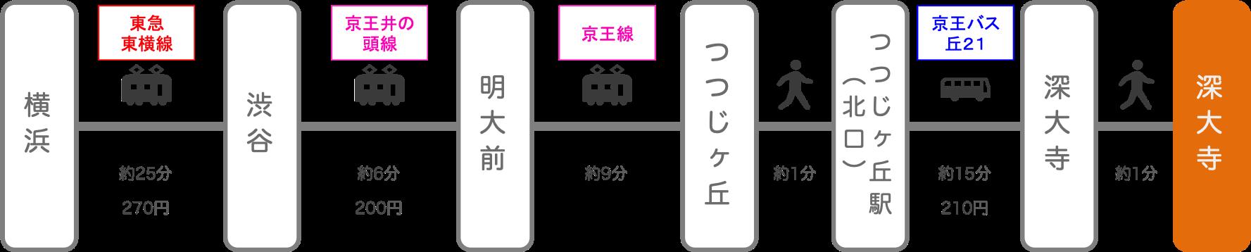 深大寺_横浜(神奈川)_電車