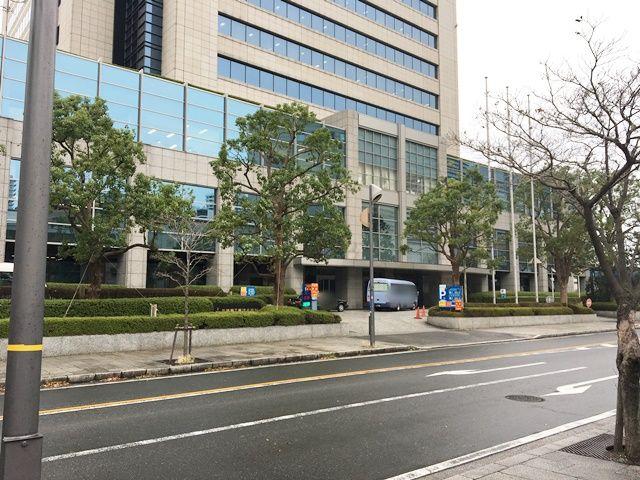 三菱重工横浜ビル駐車場