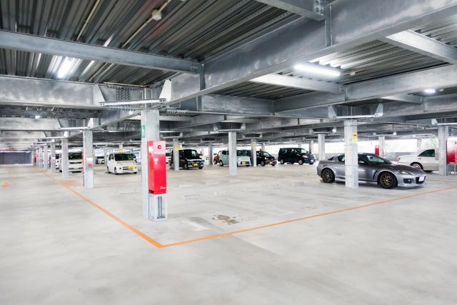 京セラドーム地下駐車場