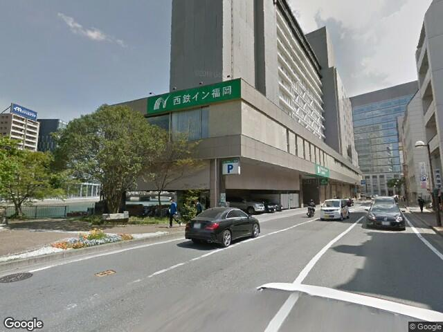 西鉄イン福岡駐車場