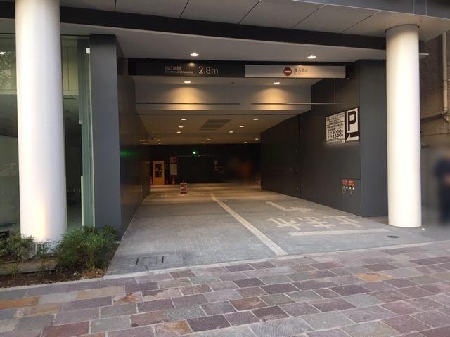 東急四谷ビル駐車場