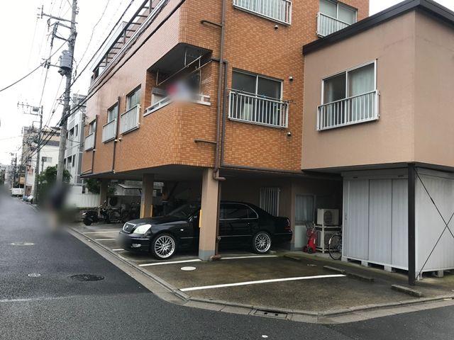 三河島駅安島邸駐車場(5)