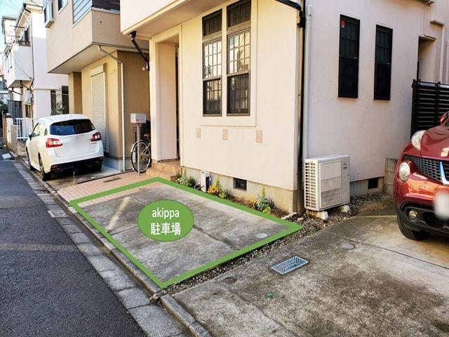 天沼2-13-3駐車場