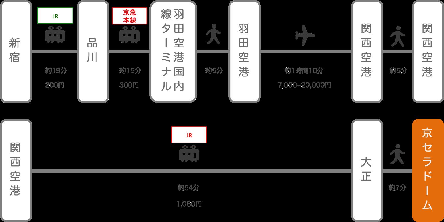京セラドーム_新宿(東京)_飛行機