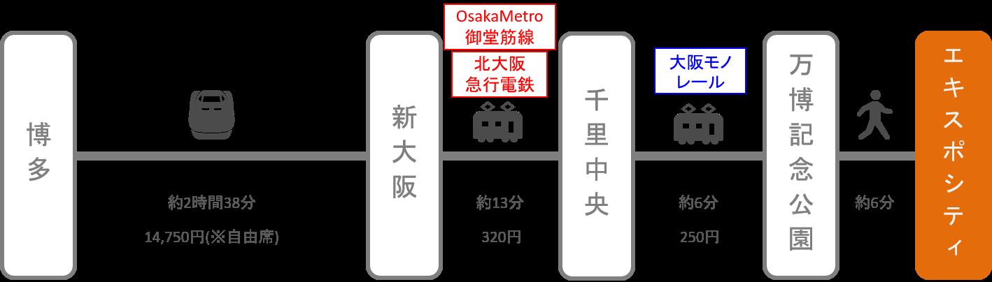 エキスポシティ_博多(福岡)_新幹線