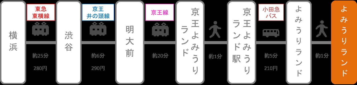 よみうりランド_横浜(神奈川)_電車