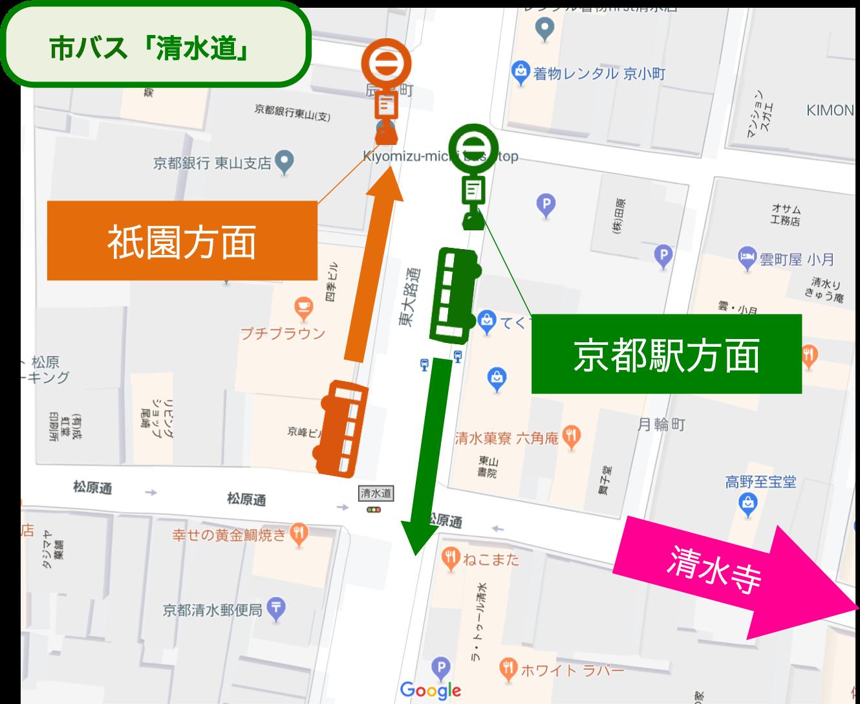 清水寺_市バス_地図